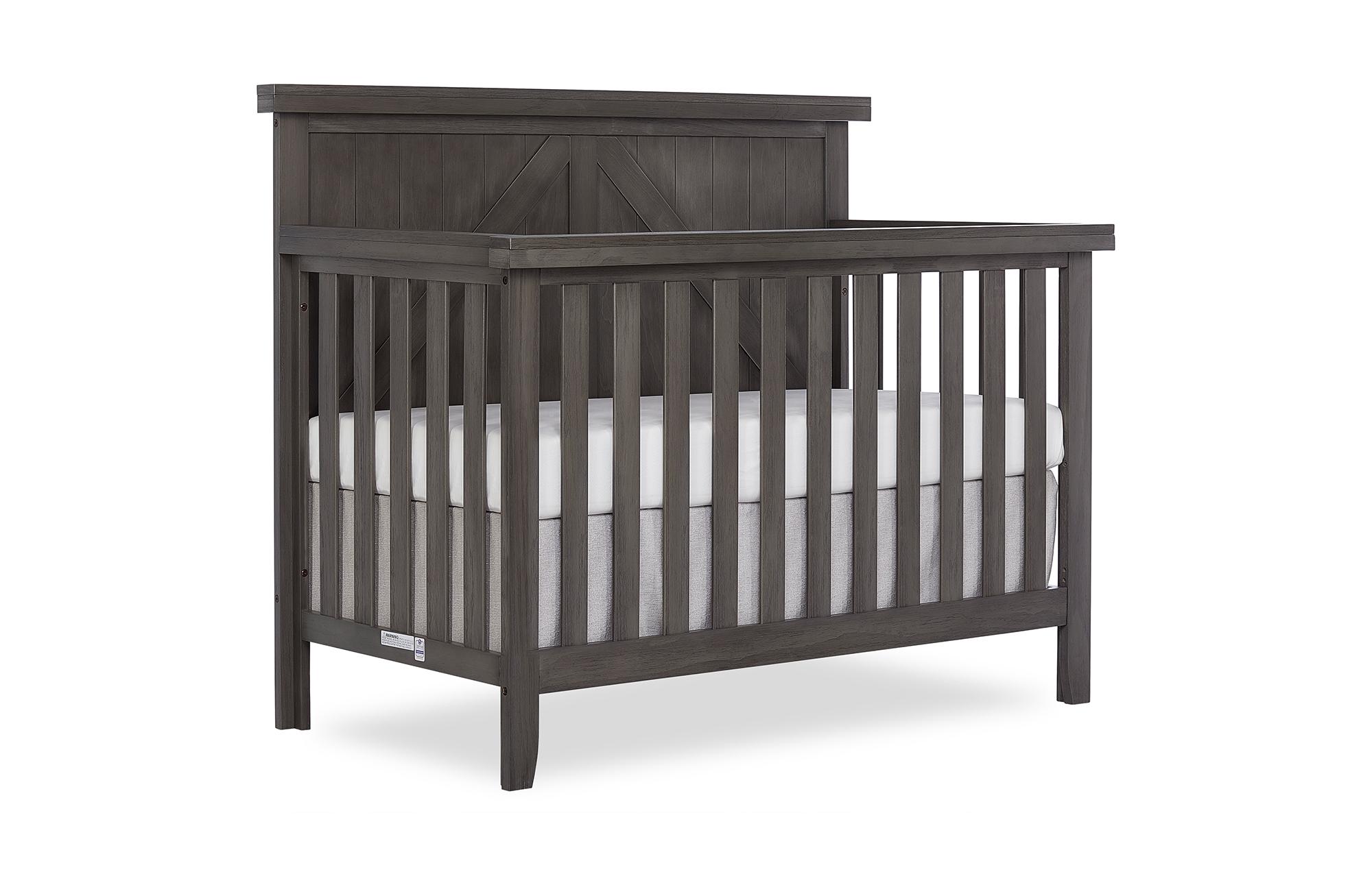 771BR-WGREY Olive Crib Side