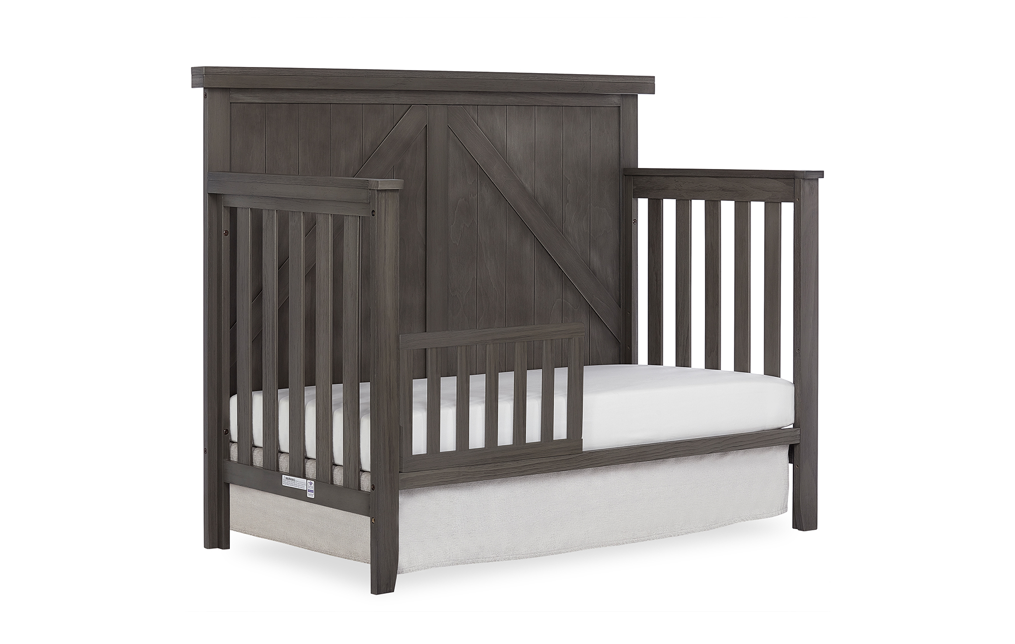 771BR-WGREY Olive Toddler Bed
