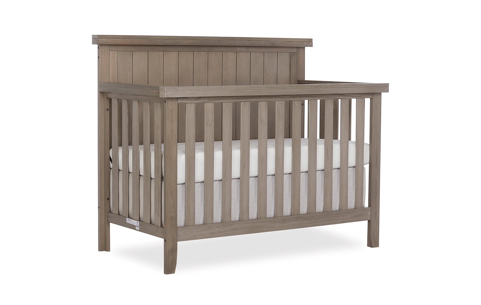 772BR-OAKGY Maple Convertible Crib Side