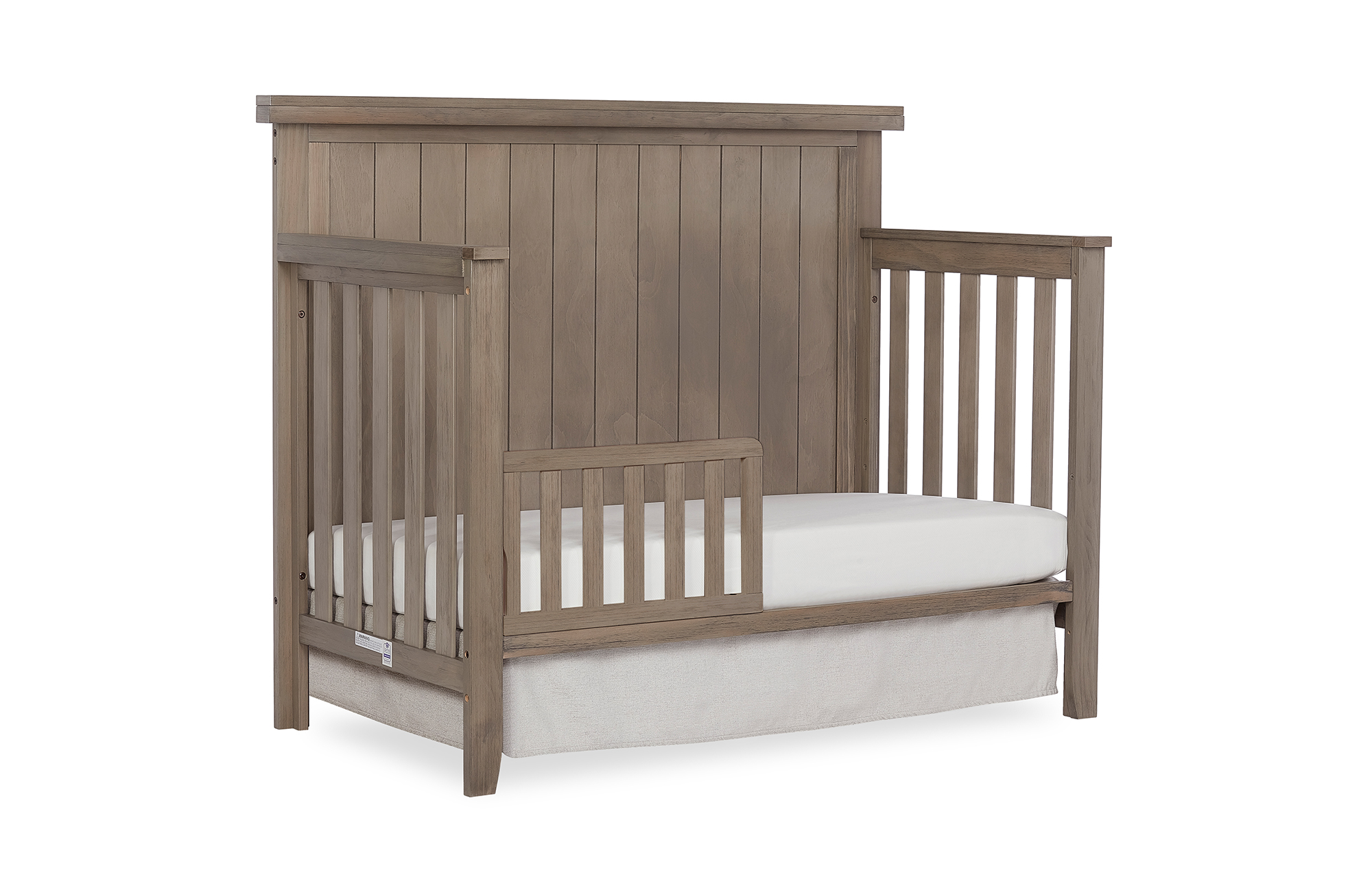 772BR-OAKGY Maple Toddler Bed