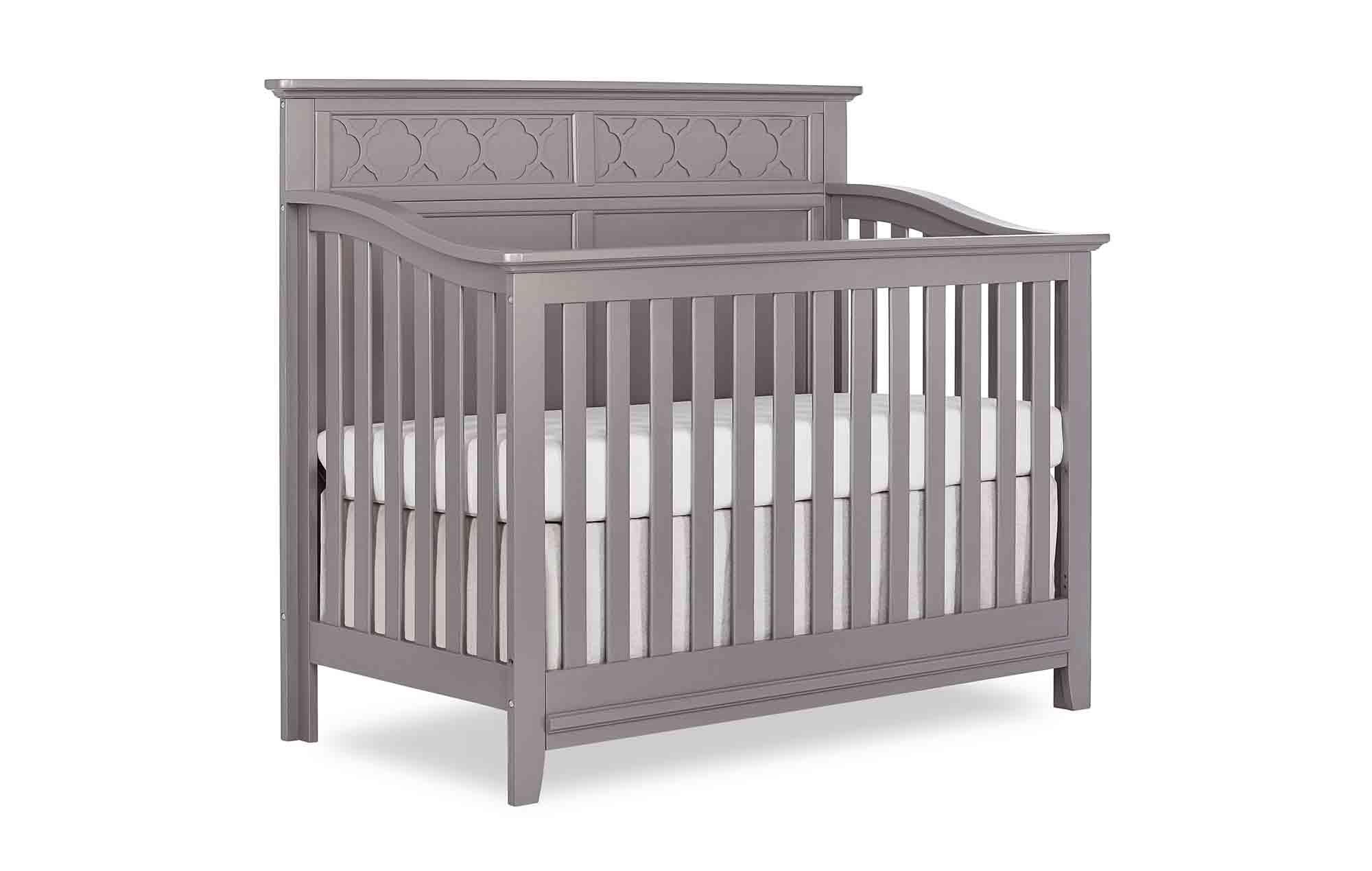 774-SGY Harper Crib Side