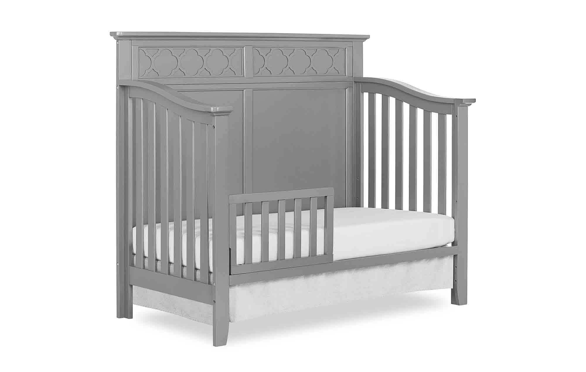 774-SGY Harper Toddler Bed